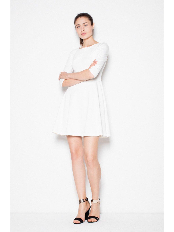 e04b918ea1f Dámské béžové šaty - London Club