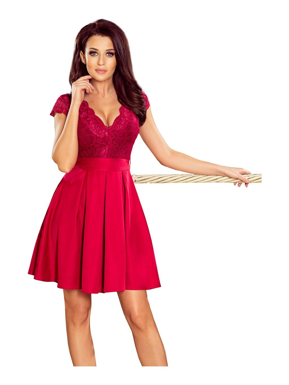 3d855d169759 Dámské červené šaty - London Club