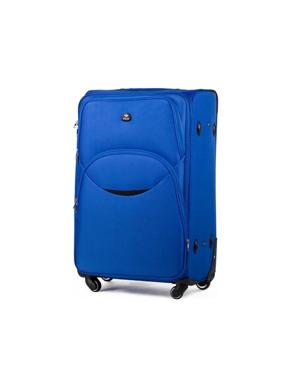 SOLIER LUGGAGE SVĚTLE MODRÝ CESTOVNÍ KUFR (STL1708 LIGHT BLUE) - SKL (Velikost M (72 litrů))