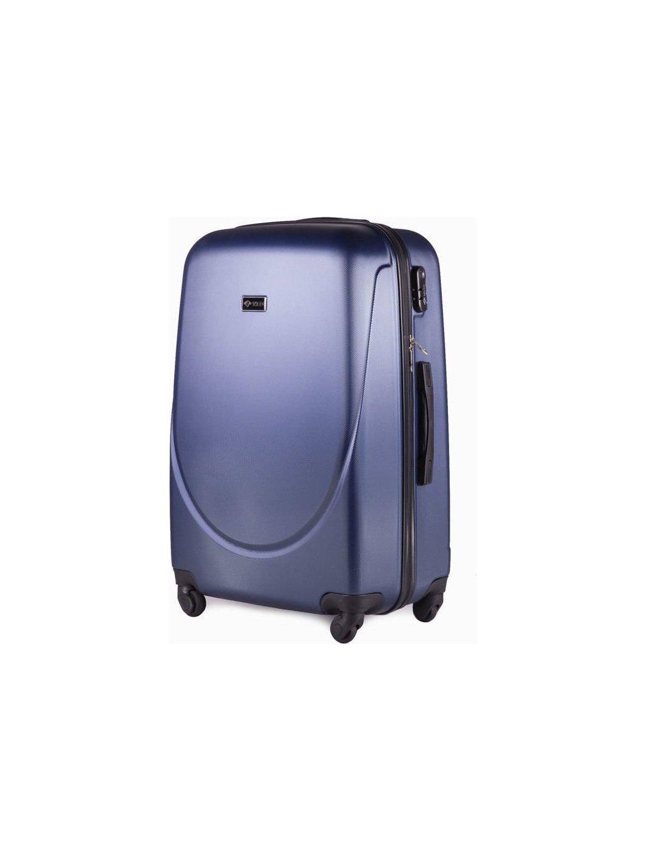 SOLIER LUGGAGE TMAVĚ MODRÝ CESTOVNÍ KUFR (STL310 DARK BLUE) - SKL (Velikost S (33 litrů))