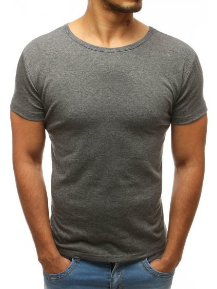 Pánské tričko antracitové (rx2576)