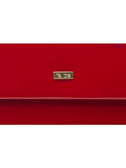 Červená kabelka psaníčko FELICE Clutch - (F14 RED SHINY)