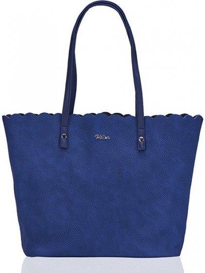 Dámská modrá kabelka značky Felice Verona zlato (ML05 NAVY)