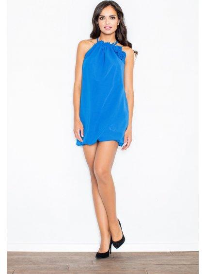 TUNIKA S DEKORATIVNÍ RŮŽÍ M065 BLUE