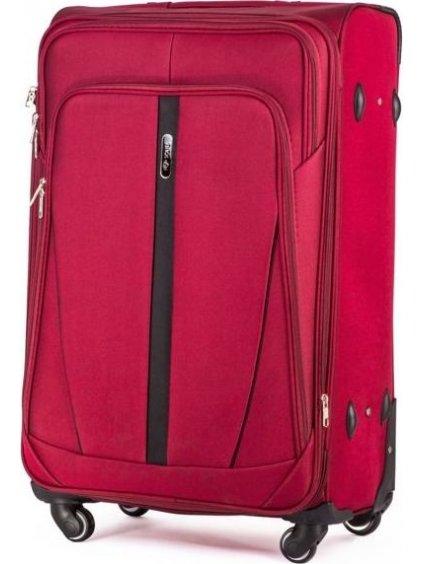 SOLIER LUGGAGE ČERVENÝ CESTOVNÍ KUFR (STL1706 RED) - SKL (Velikost S (41 litrů))