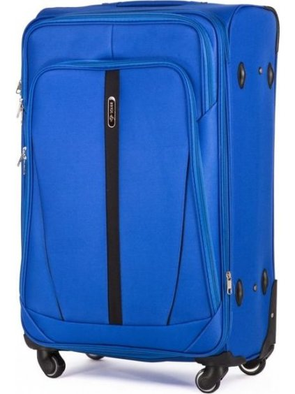 SOLIER LUGGAGE MODRÝ CESTOVNÍ KUFR (STL1706 LIGHT BLUE) - SKL (Velikost M (60 litrů))