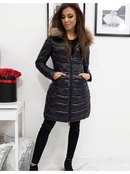 Zimní prošívaná bunda ESTELLA - černá (ty1025)