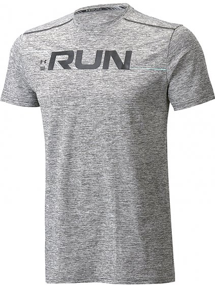 UNDER ARMOUR RUN FRONT GRAPHIC TEE