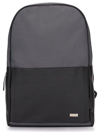 Černo-šedý batoh SOLIER (SR01 black/grey)