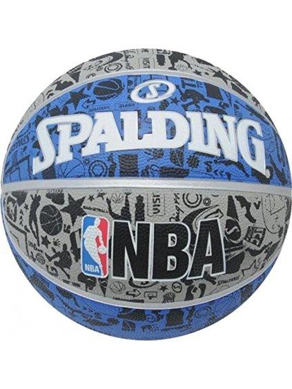 SPALDING NBA GRAFITTI RUBBER BALL