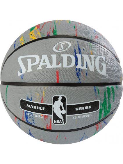 SPALDING NBA MARBLE OUT BALL