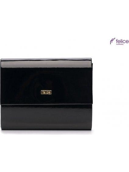 Černá listová kabelka Felice (F14 black)