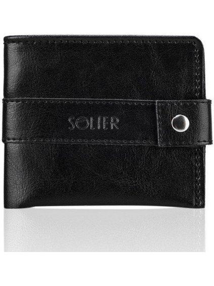 Elegantní pánská peněženka SOLIER - SW05 black