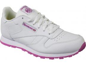 Dámská bílá sportovní obuv REEBOK Classic Leather - BS8044
