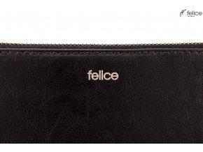 Kožená černá peněženka Felice (P01 sk br)