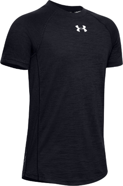 UNDER ARMOUR CHARGED COTTON SS JR TEE 1351832-001 Velikost: L