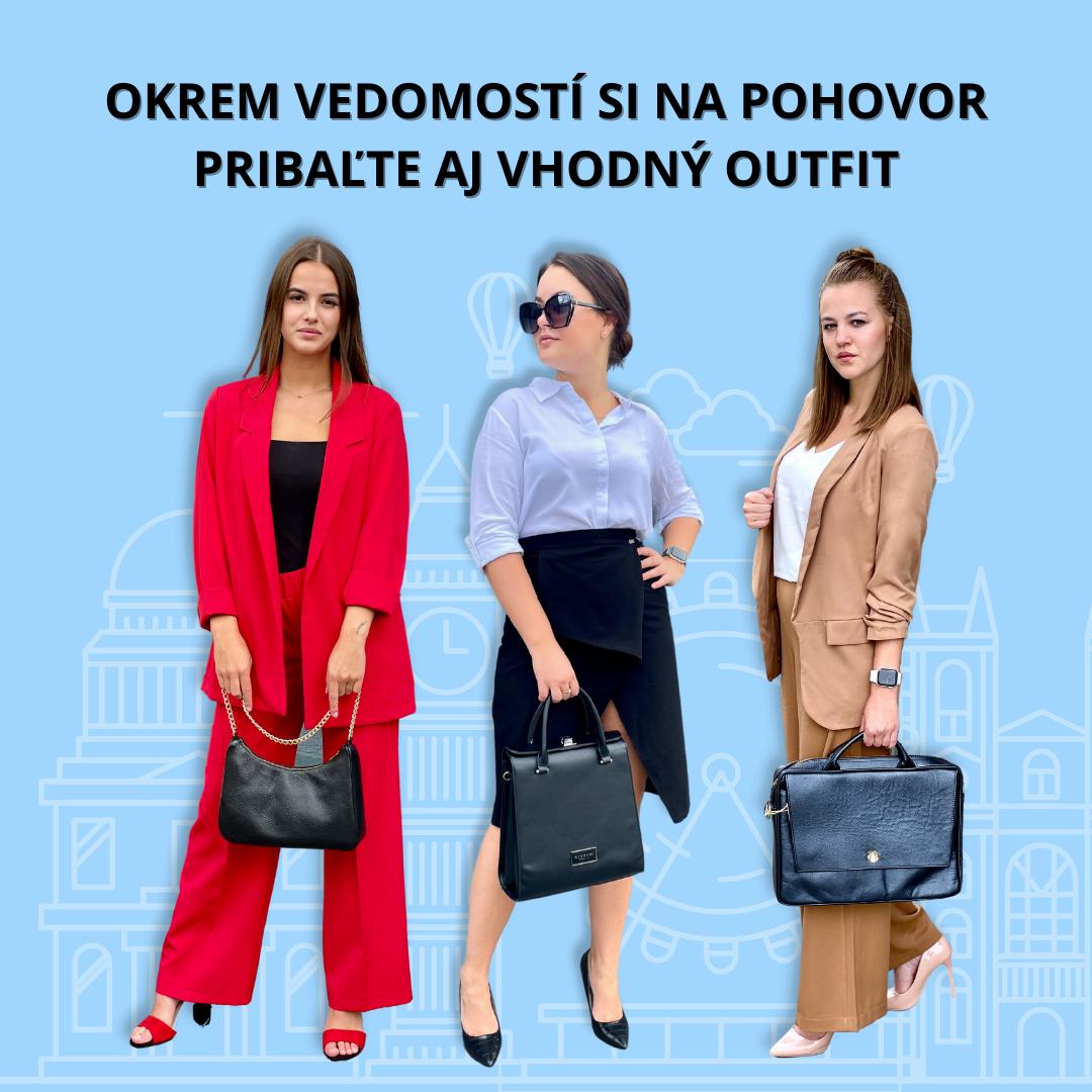 Okrem vedomostí si na pohovor pribaľte aj vhodný outfit