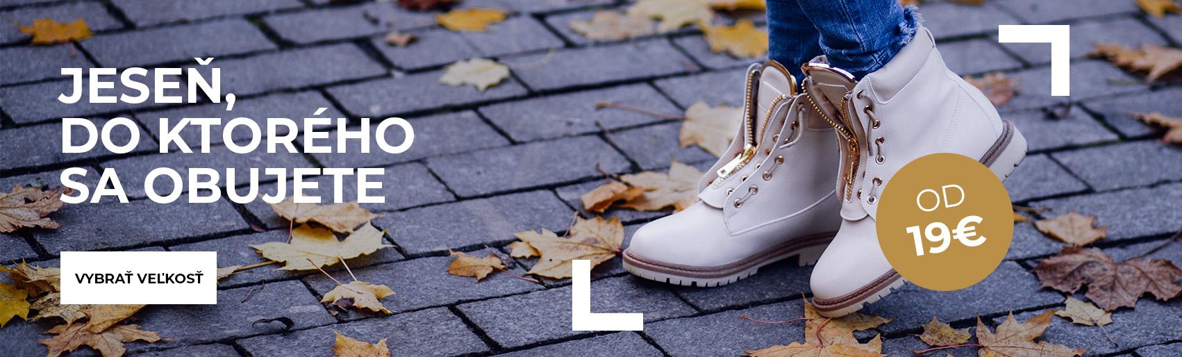 Podzimní boty 2018