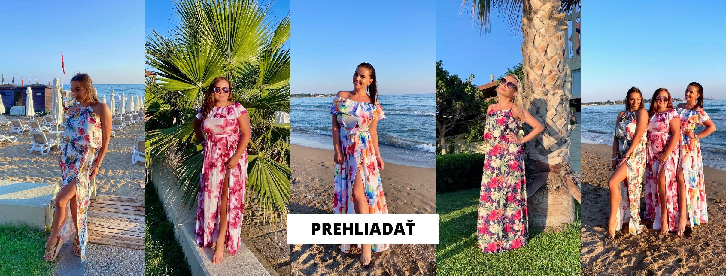 Kvetované šaty Numoco