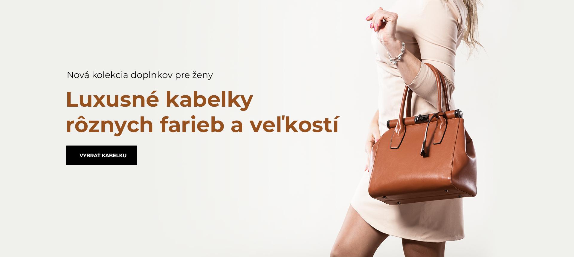 Batohy a kabelky pro ženy
