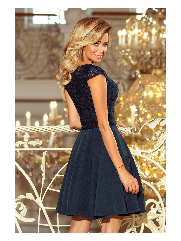 f01de463183f ... Elegantné šaty MARTA 157-9 ...