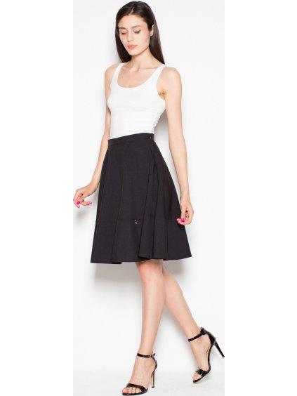 Čierna sukňa Venaton VT051