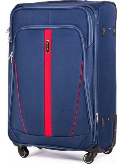 SOLIER LUGGAGE MODRÝ CESTOVNÍ KUFR (STL1706 BLUE) - SKL (Veľkosť S (41 litrů))