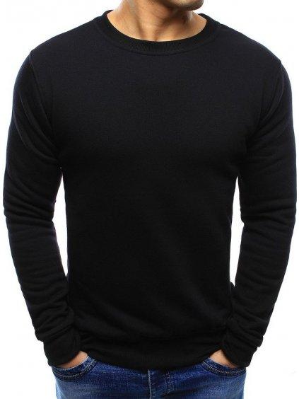 Pánska čierna mikina (bx2416)