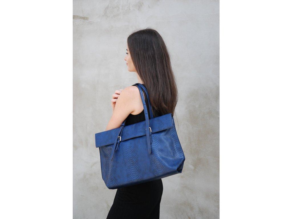 Tmavě modrá kabelka Red Cuckoo Aniya