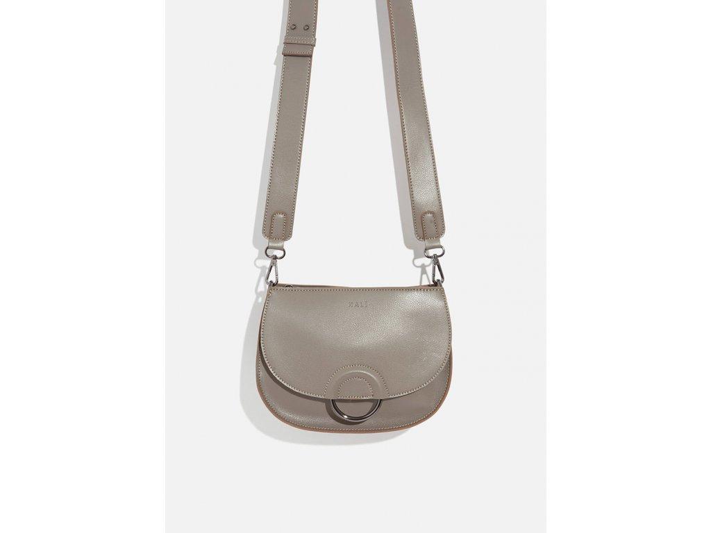 Menší šedo-béžová kabelka Nalí Fernanda