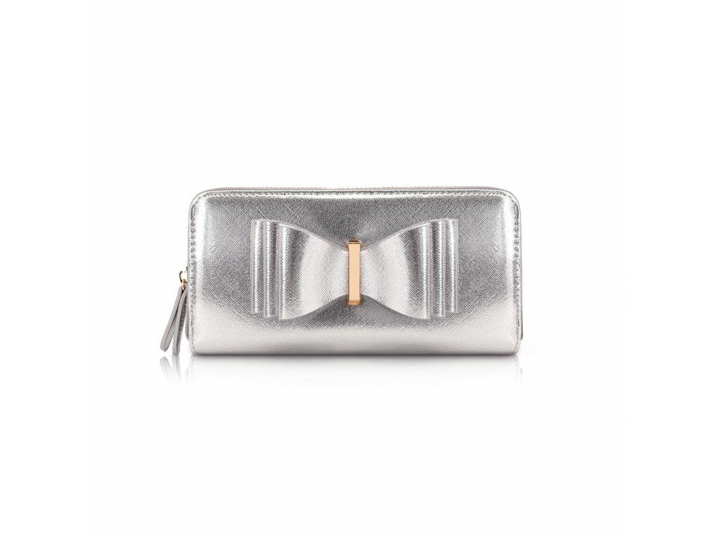 Stříbrná peněženka LYDC London Myra