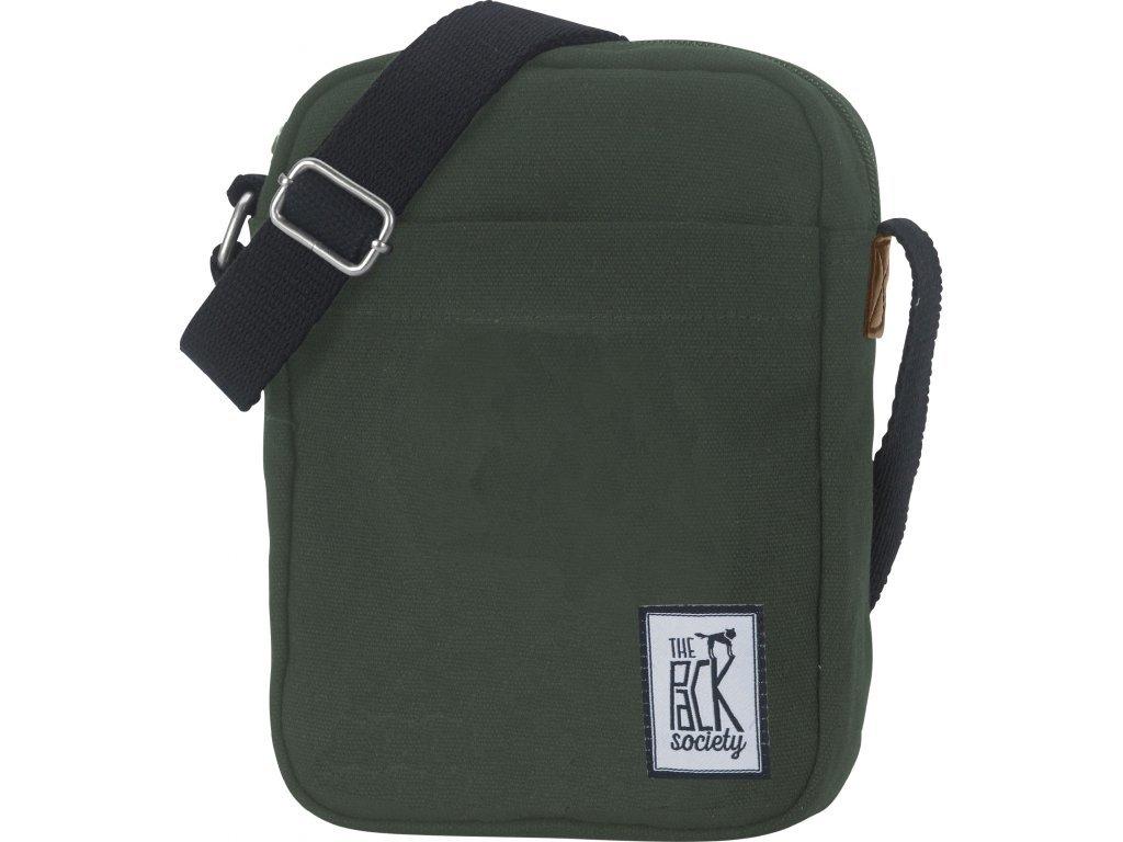 Tmavě zelená taška THE PACK SOCIETY