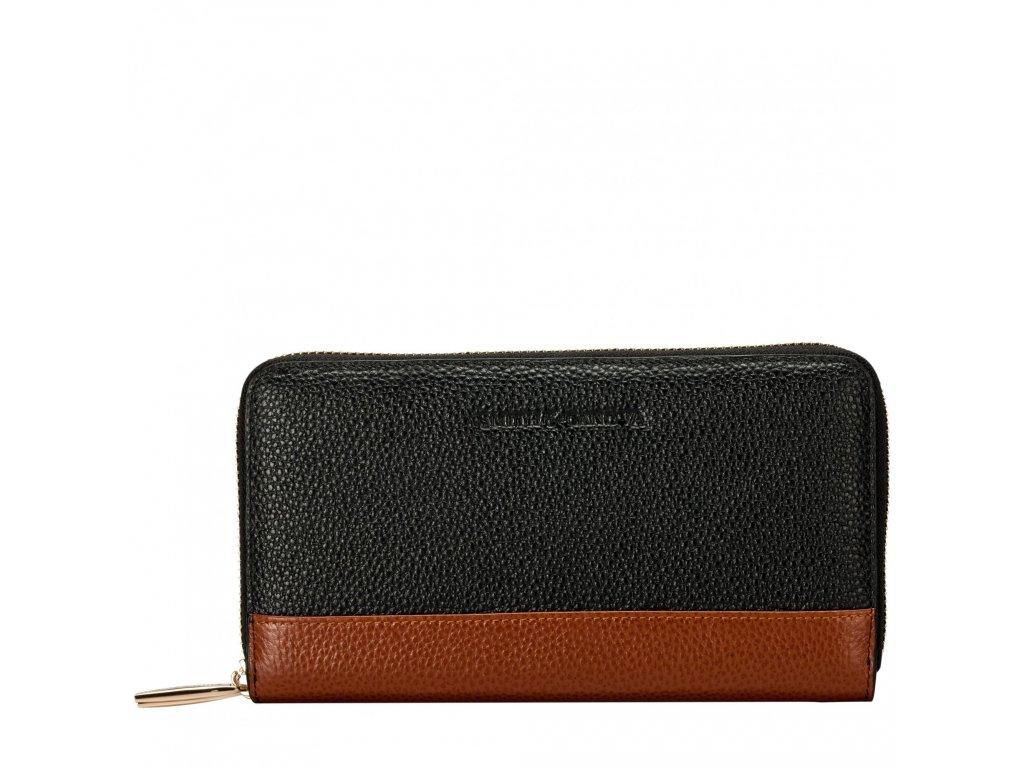 Kožená peněženka Smith & Canova Magnolia