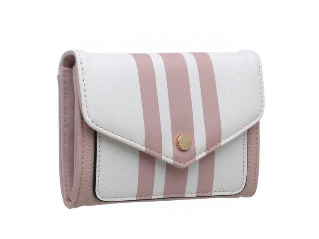 Růžová peněženka Bessie London Molly