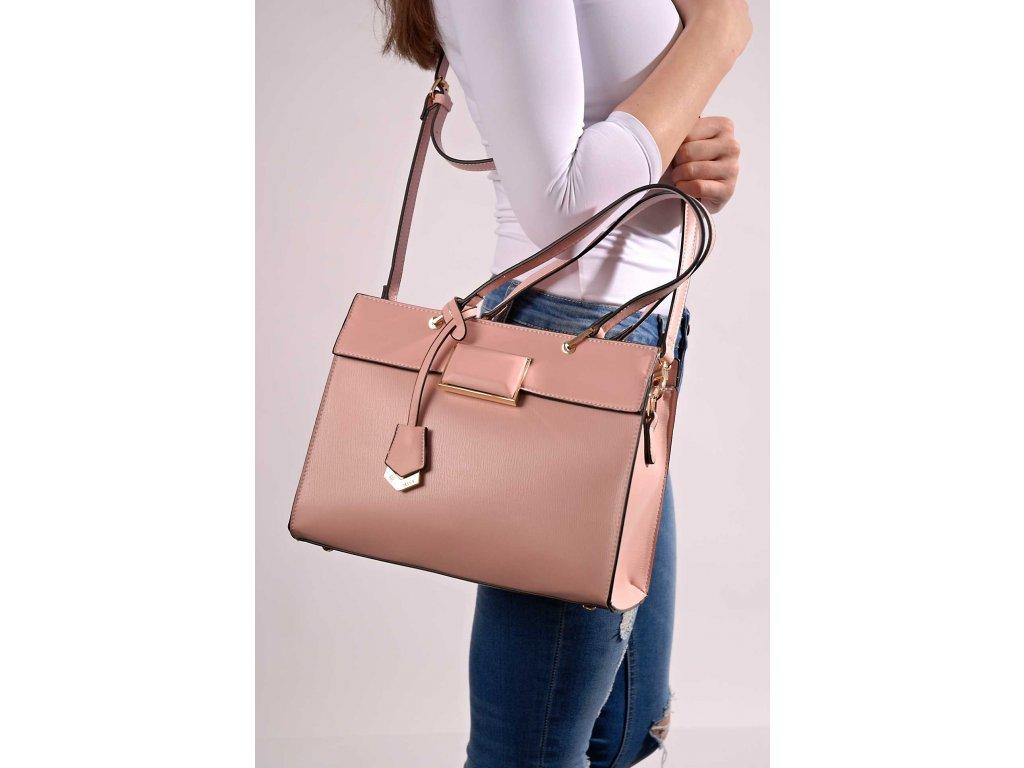 Růžová kabelka Bessie London Hope