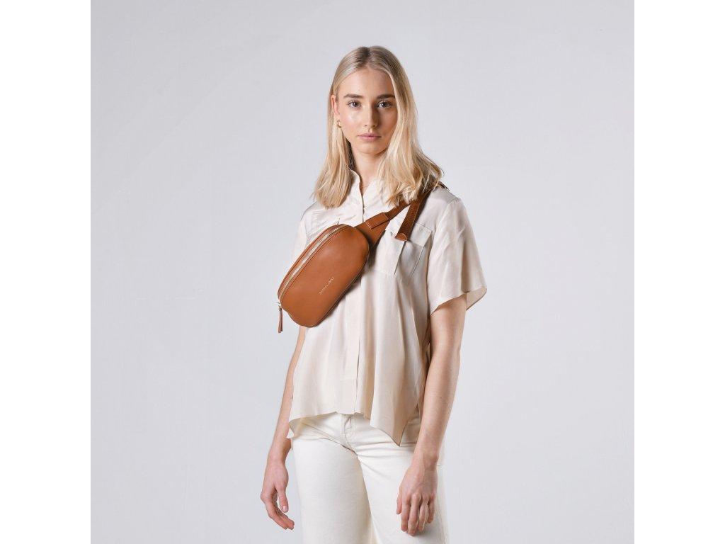 mapel zip top bum bag