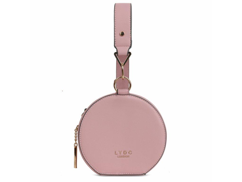 Růžová kabelka LYDC London Eden