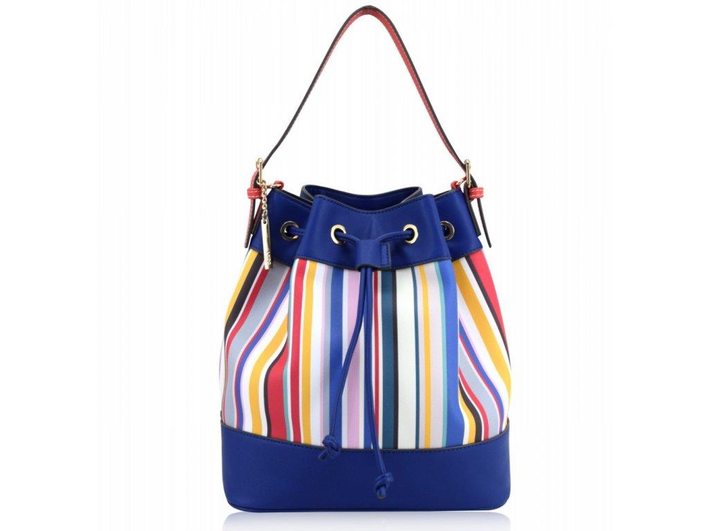 Modrá kabelka LYDC London Emelia