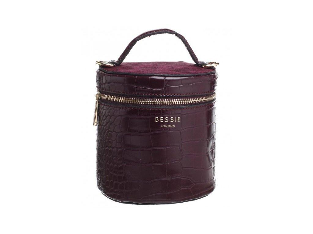 Vínová kabelka Bessie London