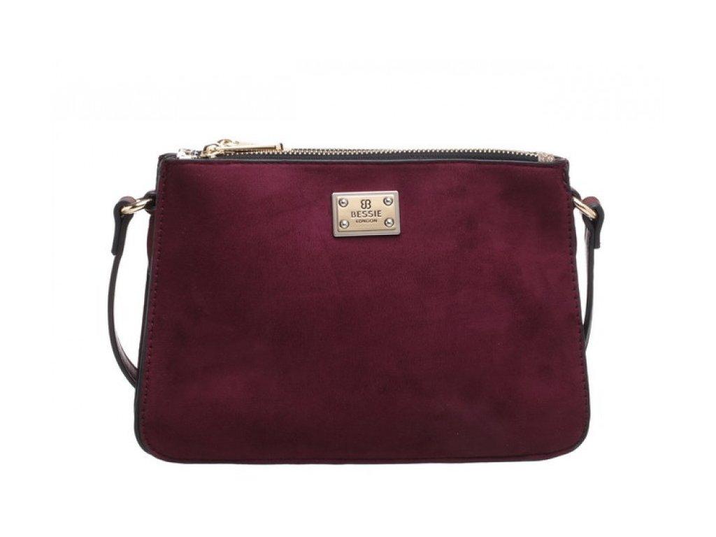 Vínová kabelka Bessie London Malia
