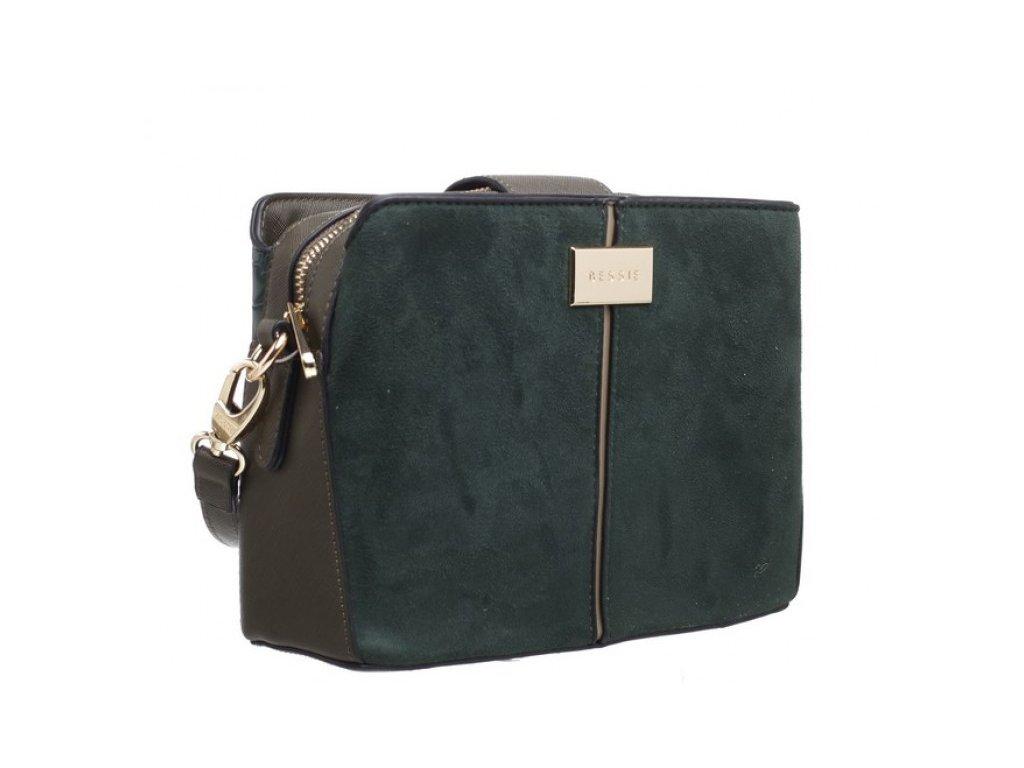 Zelená kabelka Bessie London Lia