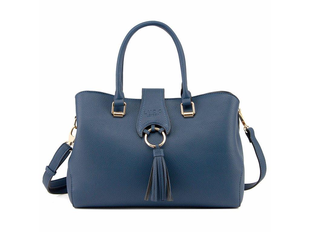 Tmavě modrá kabelka LYDC London Bethany