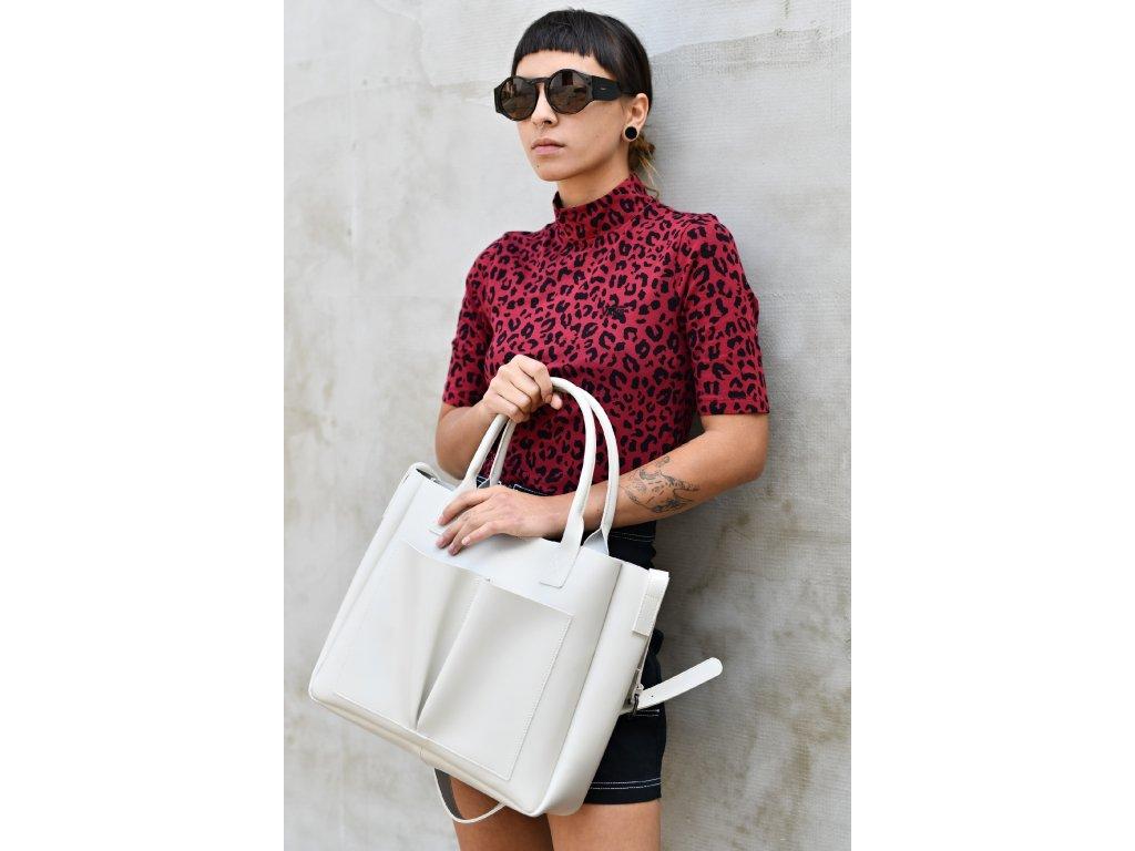 Béžová kabelka Claudia Canova Megan
