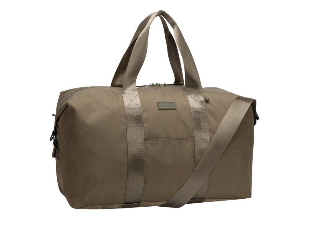 Olivová cestovní taška CONSIGNED