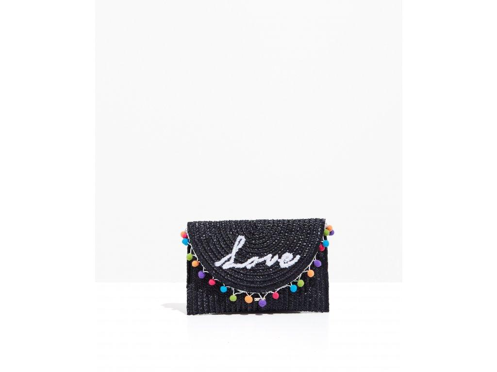 Přírodní lýková kabelka Nalí LOVE