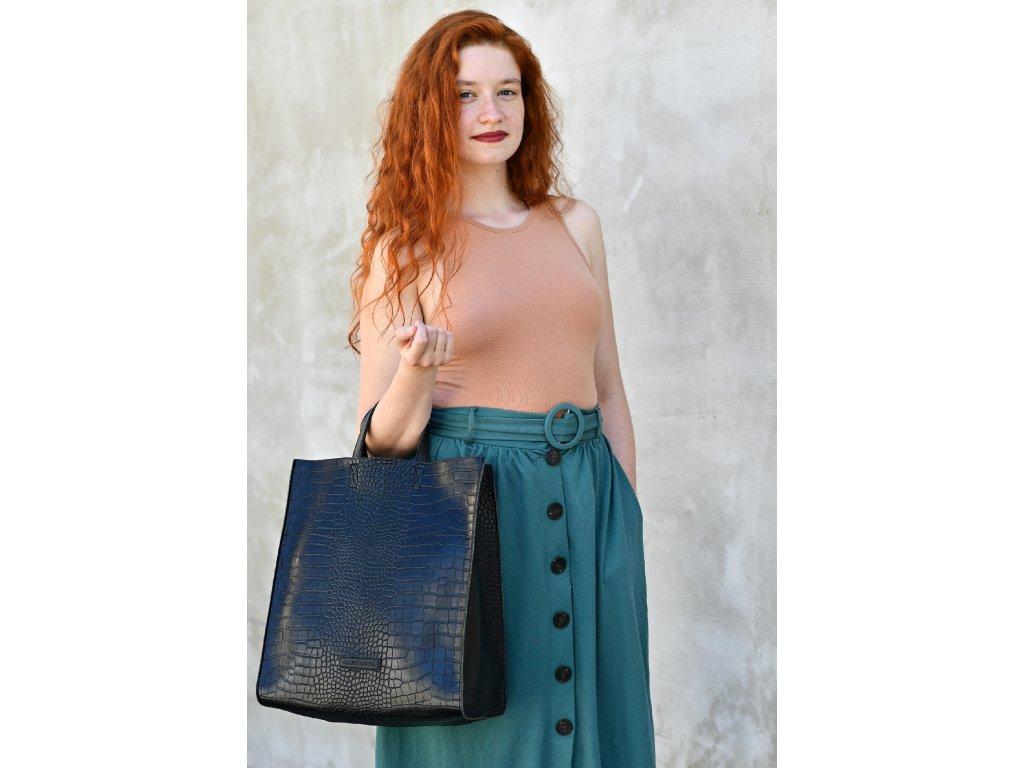Černá kabelka Claudia Canova Retta