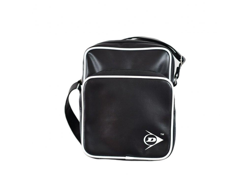 Černá taška přes rameno Dunlop