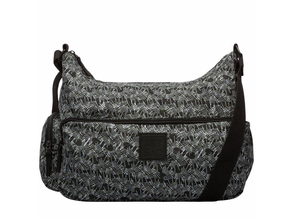Černo-bílá taška ARTSAC