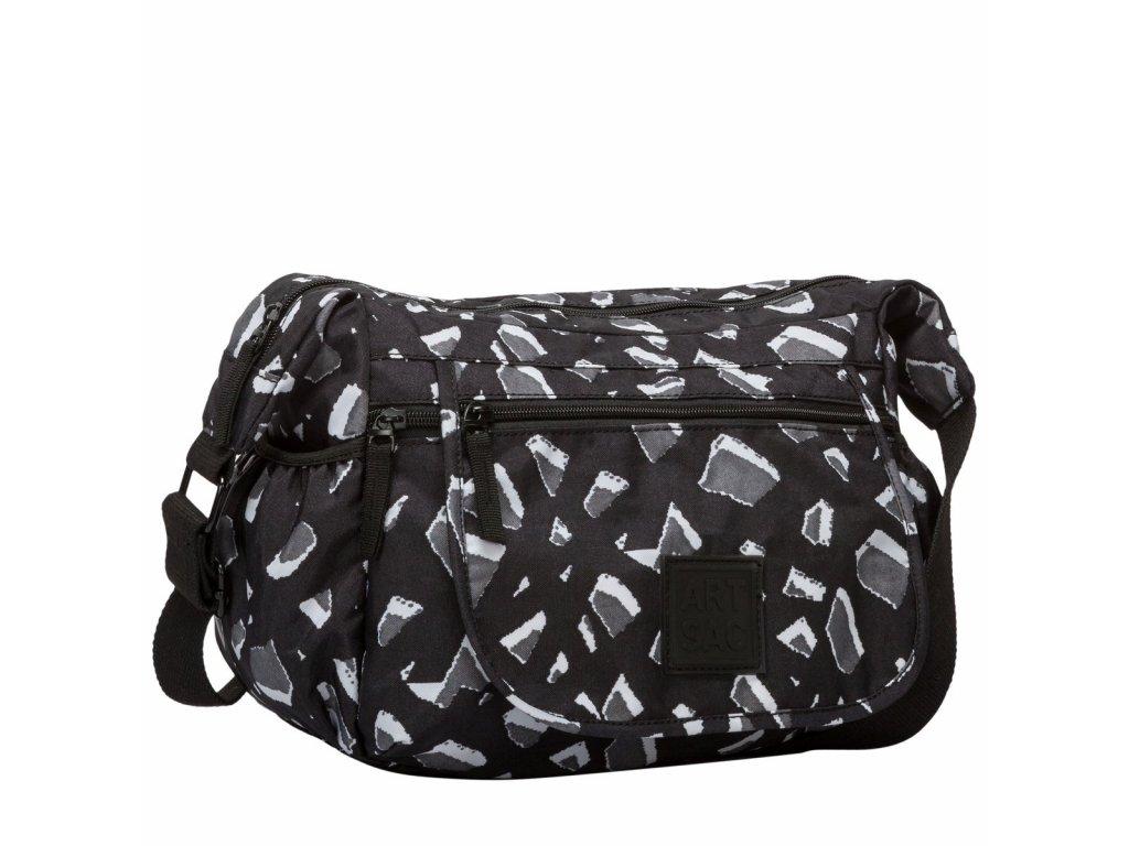 Černo-šedá taška ARTSAC