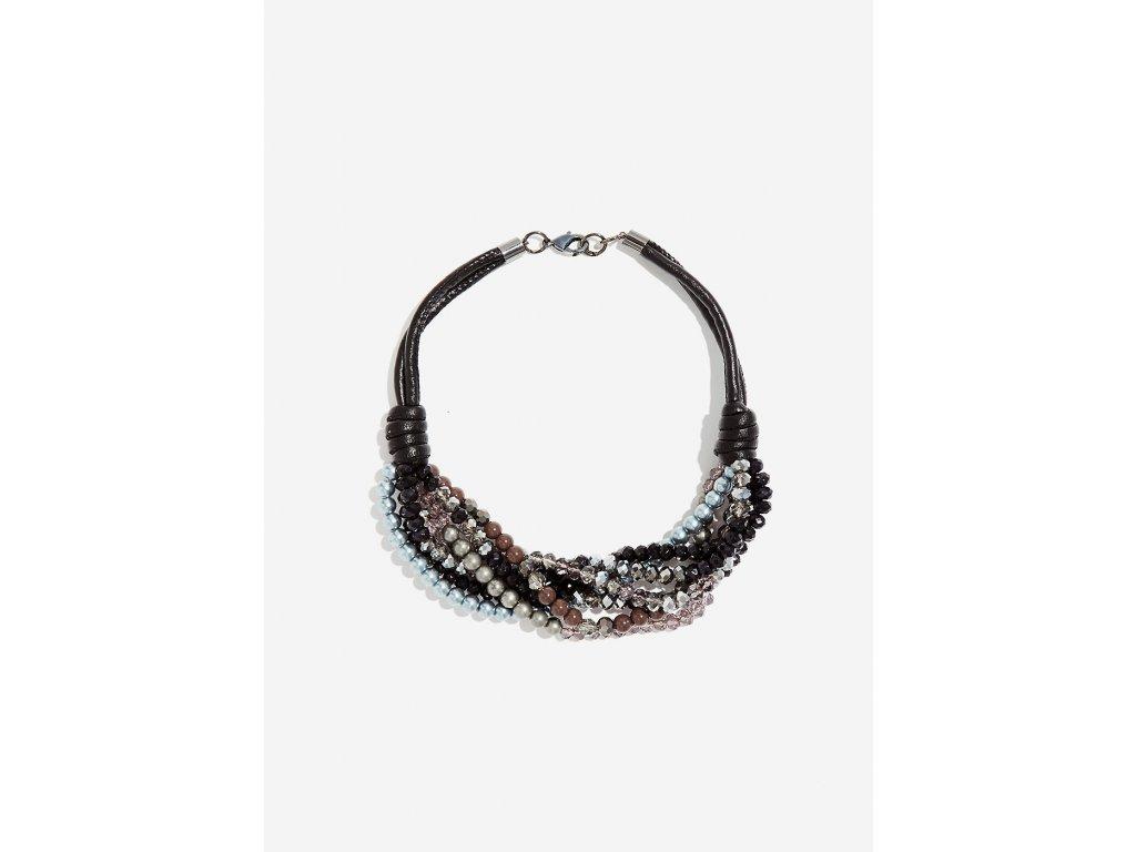 Korálkový náhrdelník NALÍ CRISTALLI